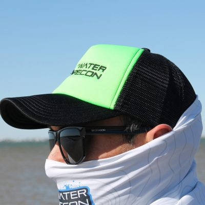 Saltwater-Recon Foam Mother-Trucker Cap (neon green/black)